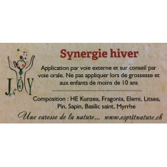 Synergie hiver - huiles essentielles 10ml